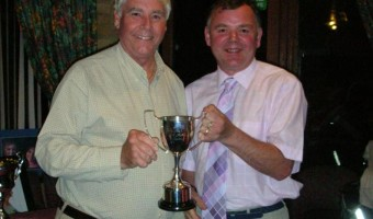 The Bob Sutton Trophy For the most outstanding work in support of the club Winner - Graham Wright