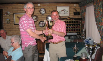 The Earnest Feather Trophy  Winner - David Walker