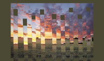 Sunset strips by Sadie Nicholls