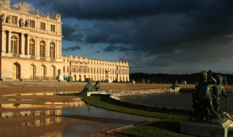 Versailles Puddles  by Wendy Harvey