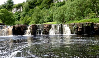 Moira Foster - Waterfall at Keld