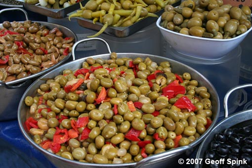 Geoff - Market Day Olives