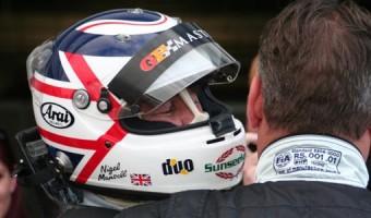 Nigel Mansell  by Geoff Spink