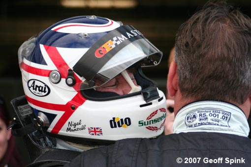 Geoff - Nigel Mansell