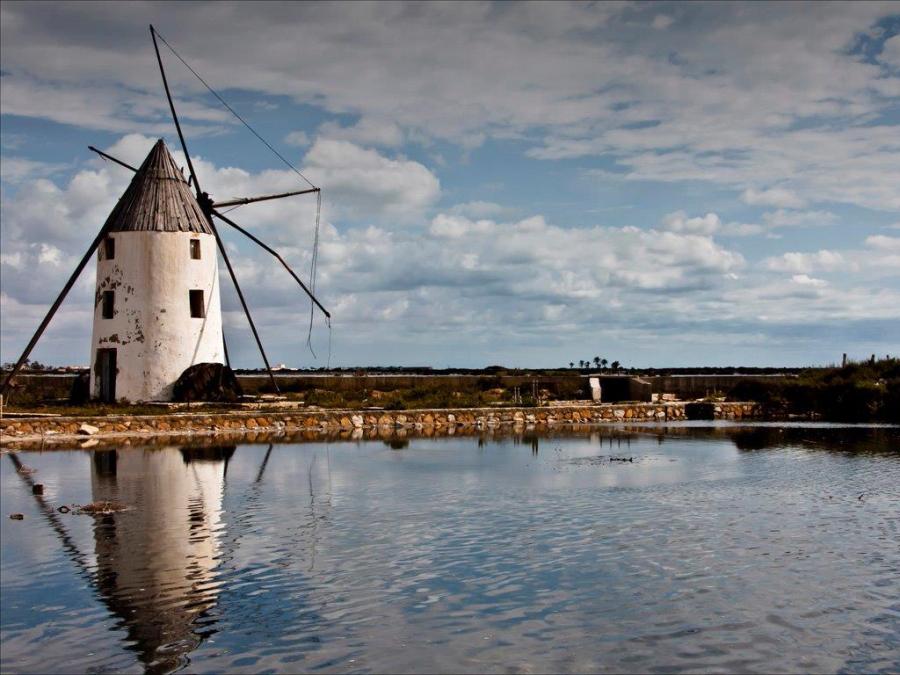 Dick Townend - Spanish Windmill.