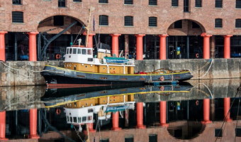 Dick Townend - Tugboat Brocklebank Albert Dock Liverpool.