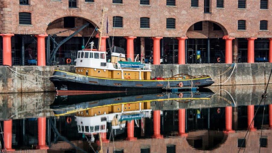 Dick Townend - Tugboat Brocklebank Albert Dock Liverpool.