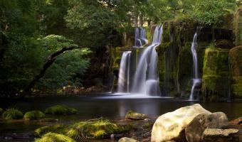 Oregate falls by Sue Eckersley