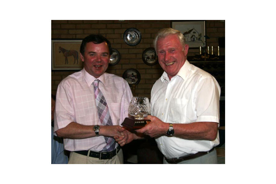Doug Rucklidge - Doug Wins Yenric Trophy 2005
