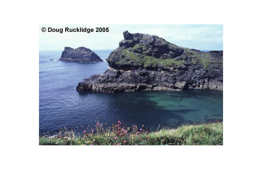 Doug Rucklidge - Entrance to Boscastle