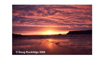 Doug Rucklidge - Evening Seascape