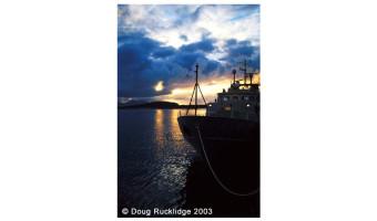 Doug Rucklidge - Evening in Oben Harbour