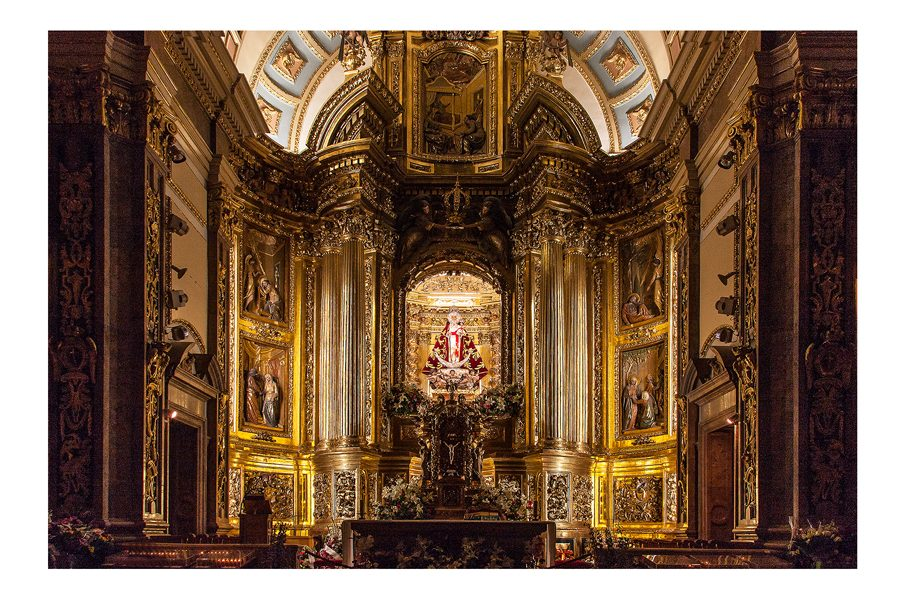 Dick Townend - spanish-church-alter