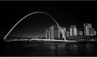 Gateshead Millennium Bridge by John Richardson