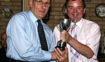 For the most outstanding work in support of the club Winner - Keith Brown