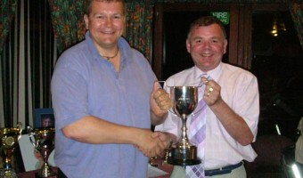 The George Pick Trophy For Most Points in all Competitions Winner Mike Ashton