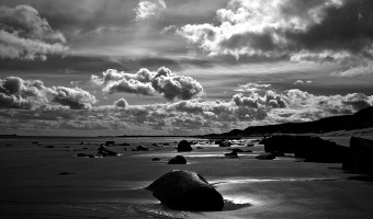 Warkworth beach  by Dick Townend