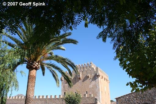 Geoff Spink - Mallorcan Watch Tower