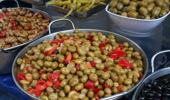 Geoff Spink - Market Day Olives