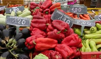Market Day Veg by Geoff Spink
