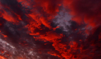Sky On Fire by Peter Purnell