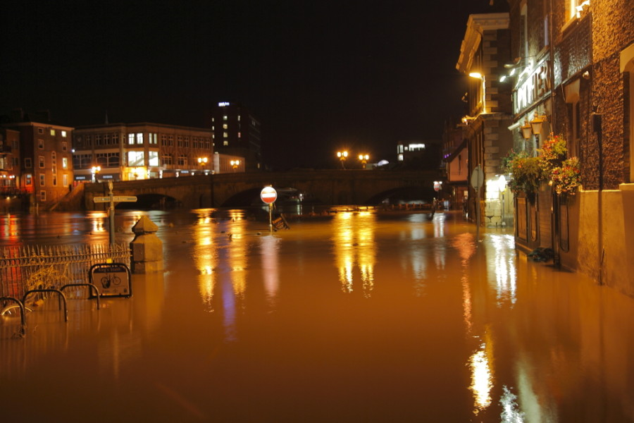 Geoff Spink - York Floods