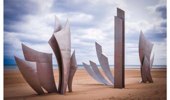 2nd On a Normandy Beach by Alex Svenson