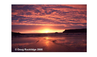 Doug Rucklidge - Evening Seascape