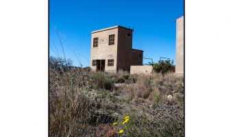 Dick Townend - Abandoned substation building