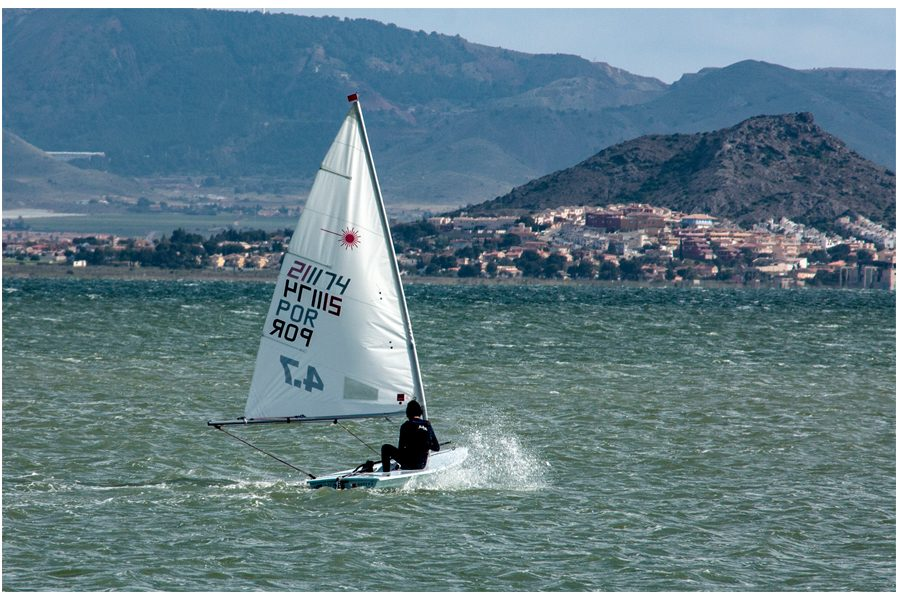 Dick Townend - Laser 4.7 Racing Dinghy