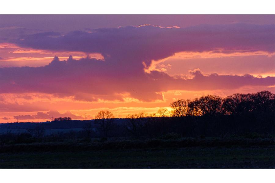 Bruce Clegg - Suffolk Sunset